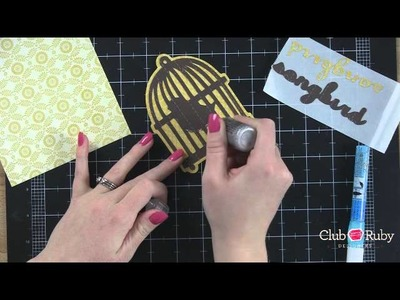 How to Make Cricut Expression Spring Wall Decor