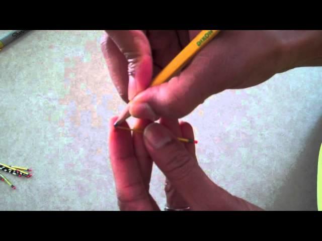 How to Make Doll Pencils, Color Pencils, Fancy Pencils