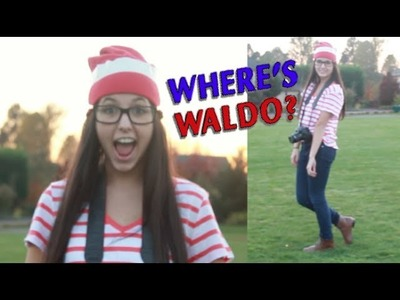 Last Minute Costume: DIY Where's Waldo!