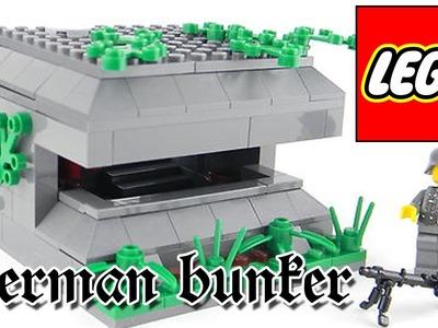 LEGO WWII bunker, instructions TUTORIAL - DIY