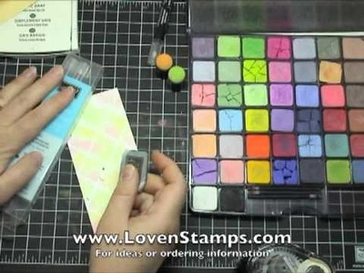 Meg's Posh Pastels Tutorial 4: Chalk Grid