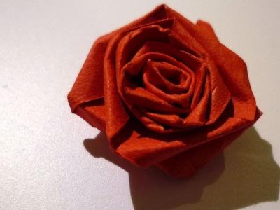 Quilled roses - Roses en papier roulé