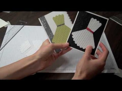 Scallop Circle Dress Card Tutorial.m4v