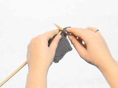 Slip, slip, knit together