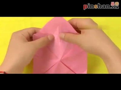 Stereo umbrella origami