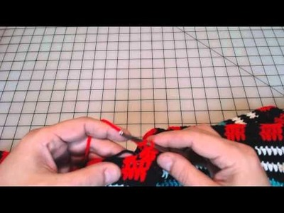 Tapestry Crochet tips when using double crochet