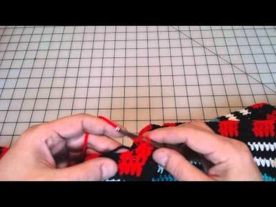 Tapestry Crochet tips when using double crochet