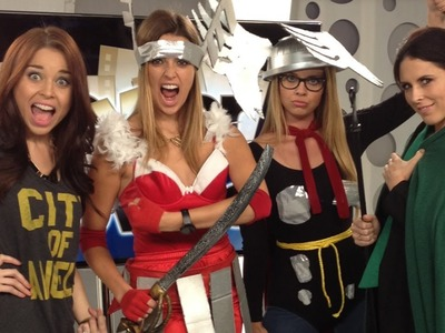 Thor & More DIY Costumes: Geek Chic For Cheap!