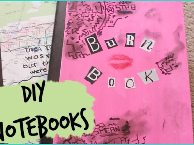 Three DIY Notebooks ft Burn Book & Paper Towns | Back to School 2014