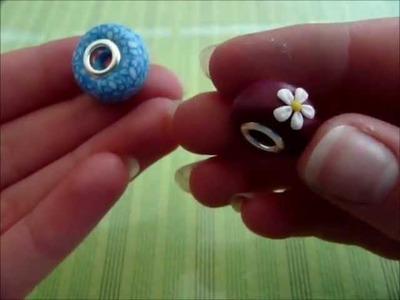 [Tutorial] Pandora Bead (Polymer Clay.Fimo)