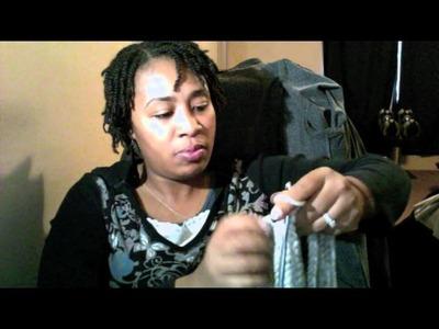Tutorial Tuesday #28 Chain Scarf (SUPER EASY)