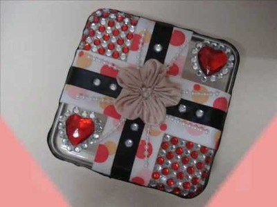 Tutorial: Valentine's Day jewellery box