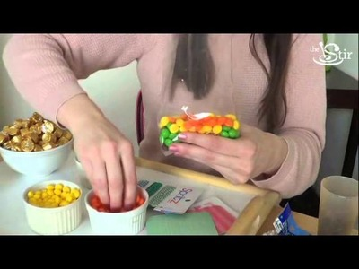Welcome Spring with Rainbow Goodie Bags! - Crafty Mom's Weekly Challenge - Episode 37