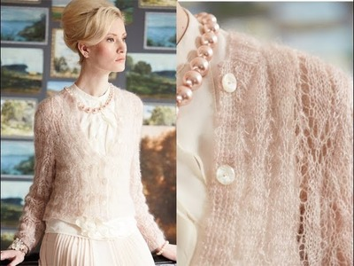 #6 Hip-Length Cardigan, Vogue Knitting Early Fall 2014