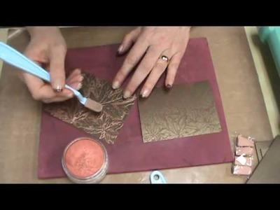 #82 Metallic PanPasels, 3D Embossing Folders & Metallic Papers by Scrapbooking Made Simple