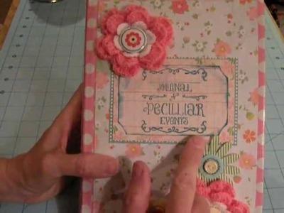 Altered Book.Junk Journal.Envelope Mini