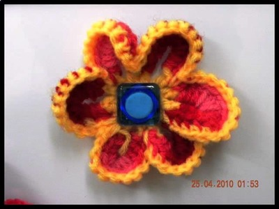 Beautiful Crochet Flowers Photos 3