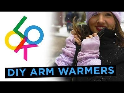 Cozy Arm Warmers: Look DIY