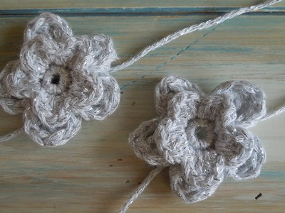 (crochet) How To - Crochet a Double Flower
