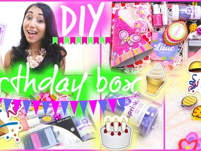 DIY Birthday Box. Birthday Care Package | #DIYITGIRL