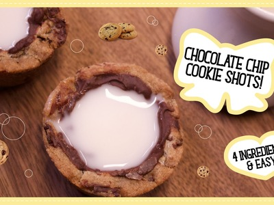 DIY Chocolate Chip Cookie Milk Shots!