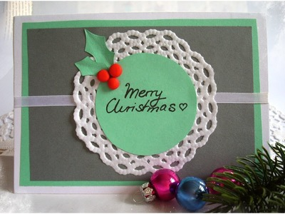 DIY: Christmas Gift Card + Ideas