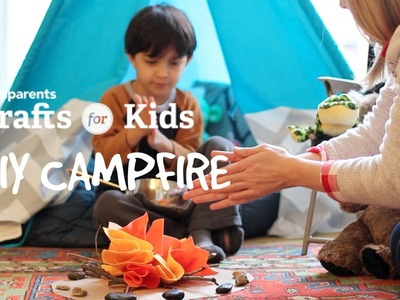 DIY Felt Campfire | Crafts for Kids | PBS Parents