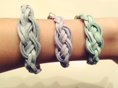 ❥ DIY Infinity Knot Bracelet