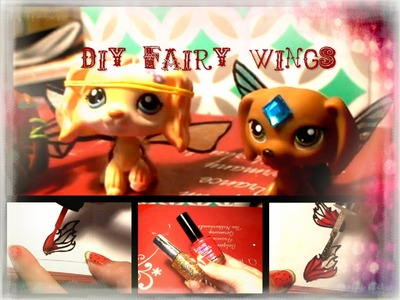 DIY LPS Fairy Wings