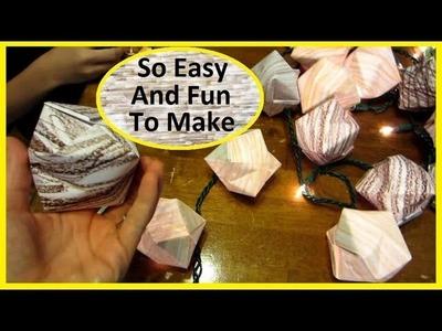 DIY Origami Lanterns