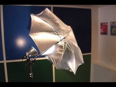 DIY Photography Studio Equipment - Reflective Umbrella