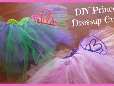 DIY Princess Party #DisneySide Dressup Crafts!