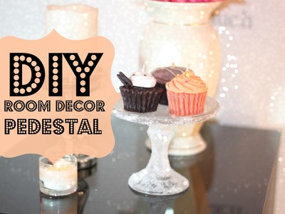 DIY Room Decor Pedestal