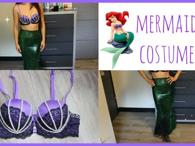 EASY DIY HALLOWEEN COSTUME: How to Make a Mermaid Tail