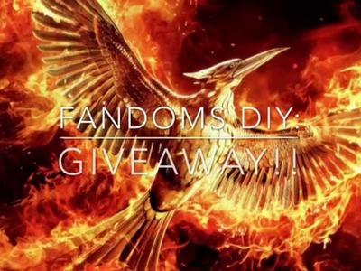Fandoms DIY: *[CLOSED]*  500 Subscribers Giveaway!