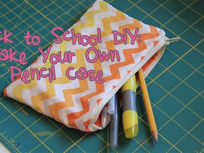 [GIVEAWAY IS CLOSED] How To Make a Pencil Case | Back to School DIY