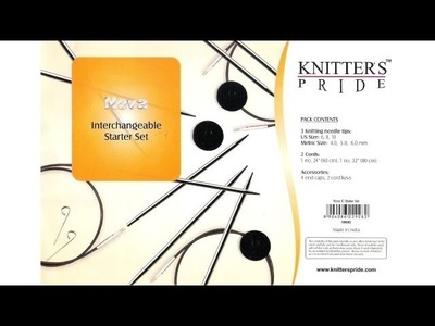 Giveaway!  Knitter's Pride Nova Interchangeable Starter Set