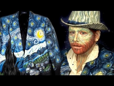 HALLOWEEN DIY: Vincent Van Gogh Costume
