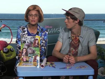 Hanging With Adam & Naomi - Life Hackz : Scrapbook - Disney Channel Official