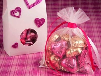 HERSHEY'S - Valentine's Day Craft - HERSHEY'S Treat Bags