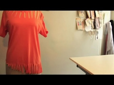 How to Make a T-Shirt More Interesting : DIY Fashion Projects