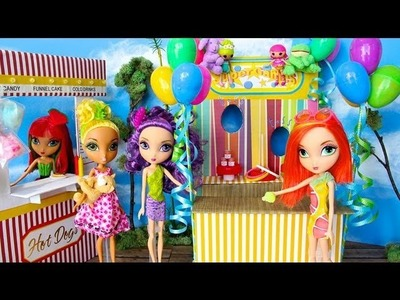 How to Make Doll Carnival Games