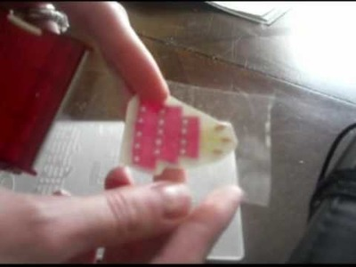How to make Embellishments with Packing Tape