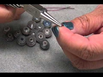 How to:  Paper Button Beads by JaniceMae