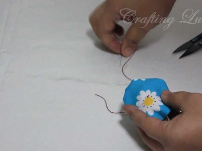 How TO Sew Fabric Yo-Yos in 3 Minutes Flat !