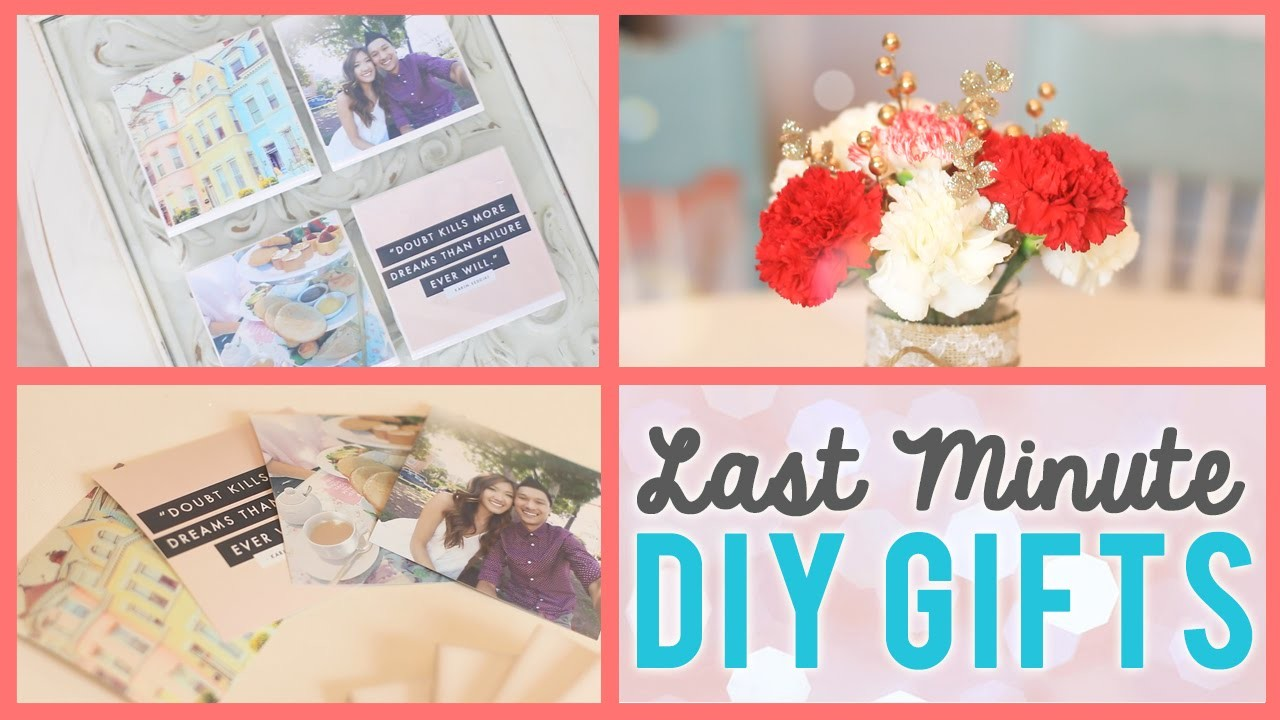LAST MINUTE Holiday DIY Gift Ideas #WinterWeylieLand | ilikeweylie