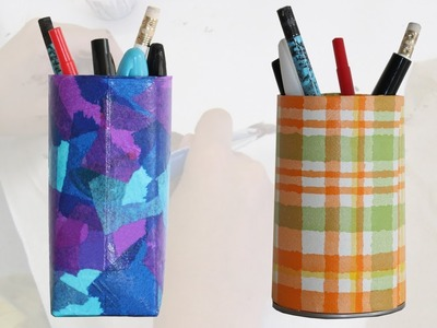 More pencil holder craft ideas for kids