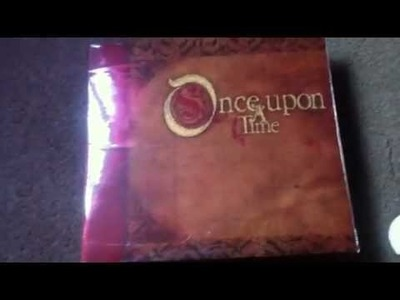 My DCWV wedding once upon a time scrapbook
