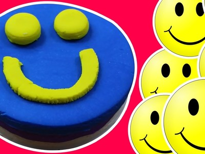 Play Doh | How to Make a Play Doh Happy Face Cake with Play Dough | Play Doh Creations