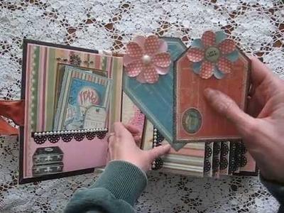 Scrapbook Mini Album Travel or Life Journey